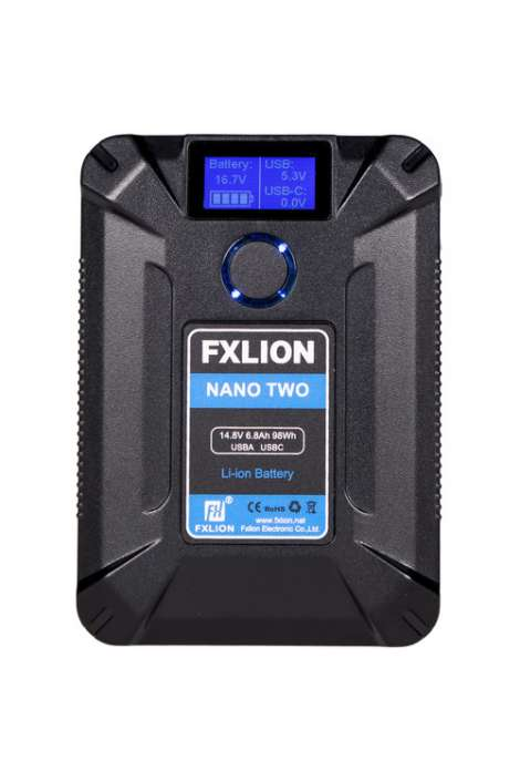 Nano Two Fxlion batteria V-Lock, 14,8V 98Wh 6,8A, D-TAP USB-A-C-MICRO OUTPUT