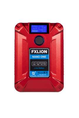 Nano One Fxlion batteria V-Lock color, 14,8V 50Wh 3,4A, D-TAP USB-A-C-MICRO OUTPUT