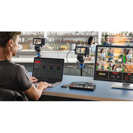 ATEM Mini Pro Blackmagic mixer 4 ingressi HDMI, live streaming e registratore