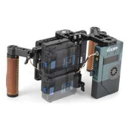 Nano One Fxlion piastra V-Lock con 3 uscite D-Tap per 2 batterie Nano