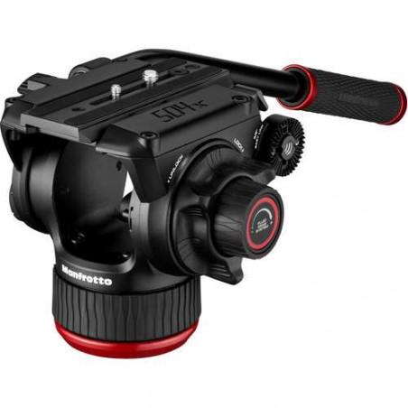 MVK504XTWINGC Manfrotto Testa Video Fluida 504X e Trep. 2Tubi in FC con SC
