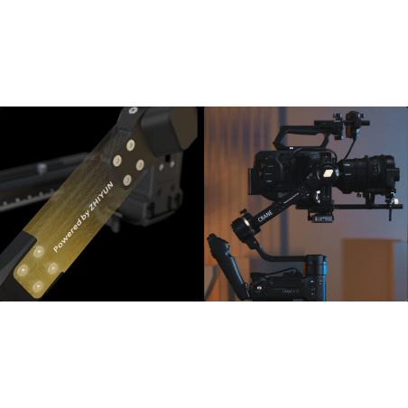 Zhiyun-CRANE 3S PRO Tech stabilizzatore per camere fino a 6,5 kg