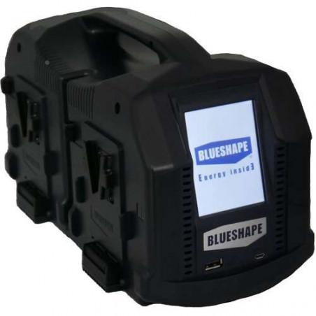 CVS4XL Blueshape Caricatore V-lock portatile simultaneo a 4 canali