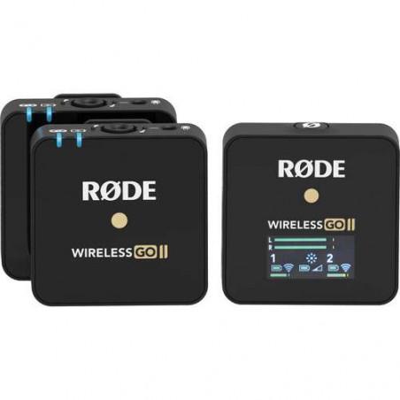 Wireless GO II Rode Dual Channel Microfone System
