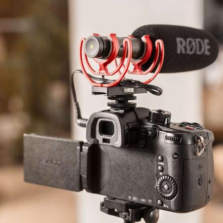 Cavo Rode da TRRS a TRRS da 3,5 mm per collegare VideoMic NTG a videocamere o dispositivi mobili di tipo DSLR.