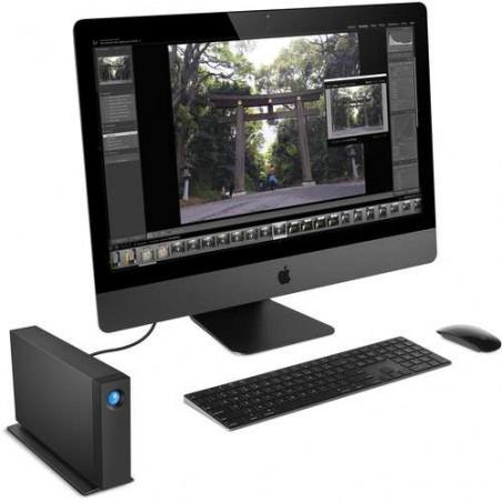 Hard disk esterno LaCie 6TB D2 PROFESSIONAL USB 3.1, USB-C