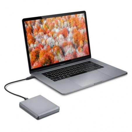 Mobile Drive LaCie, 5 TB - USB 3.1 Gen 2 USB-C - Hard disk esterno silver