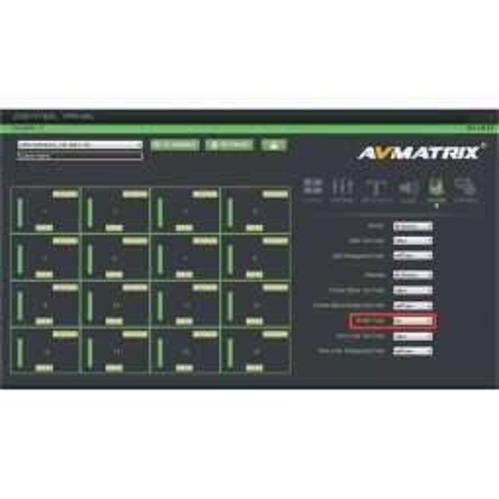 AVMATRIX Multiviewer e Switcher 3G-SDI a 16 canali (1 RU)