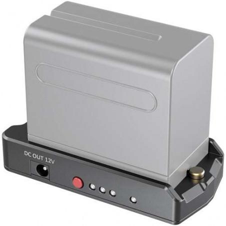 SmallRig Piastra adattatore batteria NP-F per BMPCC 4 / 6K e 6 K PRO