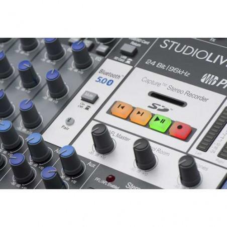 StudioLive AR16c USB PreSonus Mixer Ibrido 16 ch con connessioni analog/digit