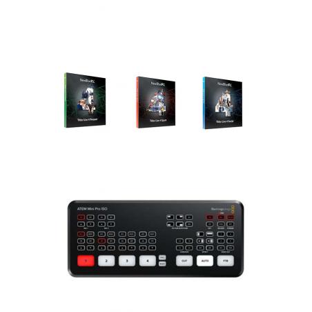 ATEM Mini + Titler Live 4