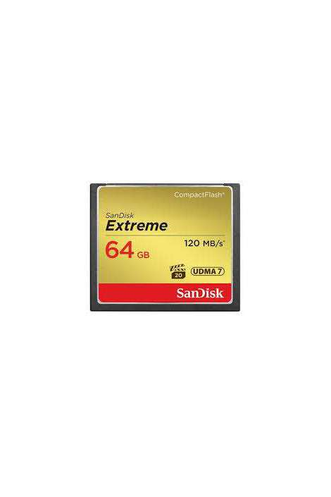 SN0554 Sandisk Compact Flash Extreme 64GB 120MB/sec