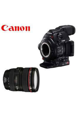 Canon EOS C100 Mark II DAF + Canon EF24-105mm F4.0 L IS USM
