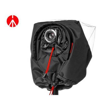Copertura antipioggia Manfrotto per videocamere palmari