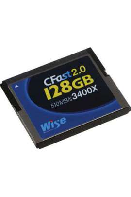 Scheda Wise CFast 2.0 128GB R/W 528MB/320MB