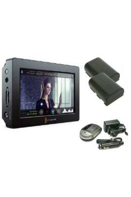 "Kit Video Assist HDMI/6G-SDI Recorder and 5"" Monitor Blackmagic + 2 batterie + 1 caricabatterie"