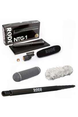 Rode Kit NTG1 + Rode BOOM POLE + Blimp + Deadcat (peluche)