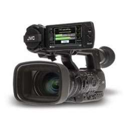 "JVC camcorder MPEG-2 & AVCHD - 3 CMOS 1/3"" - Zoom 23x - Wi-Fi GPS Operation: 113h"