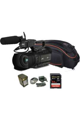 GY-HM170 kit JVC camcorder 4K ULTRA HD + batteria + caricabatteria + scheda 64 GB