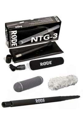 Kit Boom Rode con NTG3 + BOOM POLE + Blimp + Deadcat (peluche)
