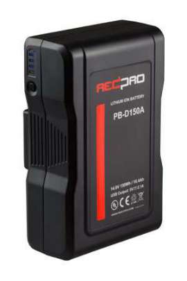 PB-DV150V HED-BOX V-LOCK Battery Pack D-TAP ed USB