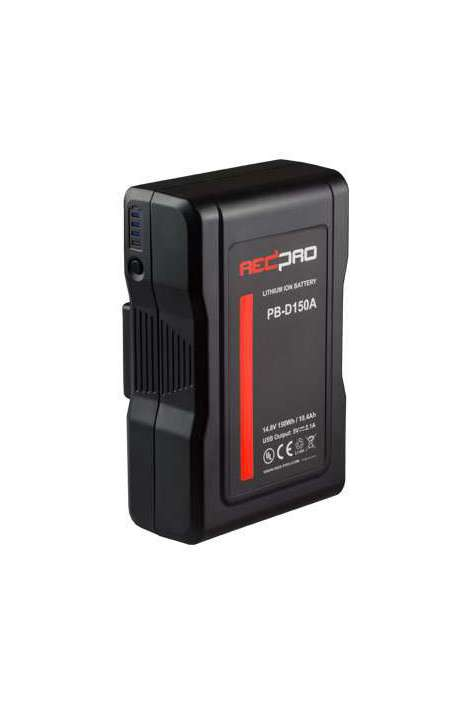 PB-D150V HEDBOX V-LOCK Battery Pack D-TAP ed USB