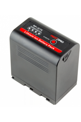 RP-JC70 HEDBOX Batteria al litio Ultra High-Capacity per JVC