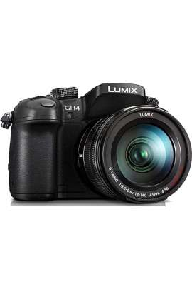 Panasonic LUMIXG DMC-GH4EG-K fotocamera 16MP - 4K Full HD + ottica LUMIX Panasonic 14-140mm