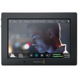 "Video Assist 4K Blackmagic 7"" monitor recorder"