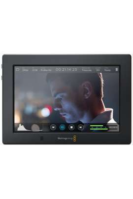 "Video Assist 4K Blackmagic monitor recorder 7"" + 2 batterie LPE6 e 1 caricabatterie"