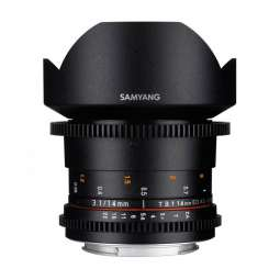 SY14VC SAMYANG OBIETTIVO 14MM T/3,1 VDSLR ED AS IF UMC CANON