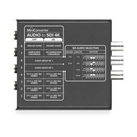 Mini Converter Audio to SDI 2 Blackmagic Design