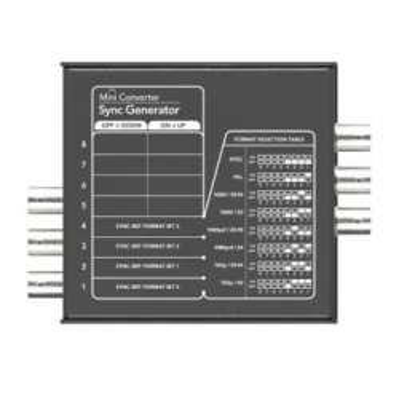 Mini Converter Sync Generator Blackmagic
