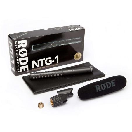 """Rode Microfono Shotgun direzionale a condensatore """"mezzo fucile"""" - NTG1"""