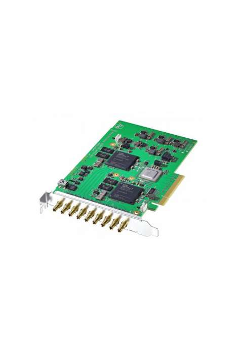DeckLink Quad 2 Blackmagic PCIe video I/O card with 8 SDI I/O