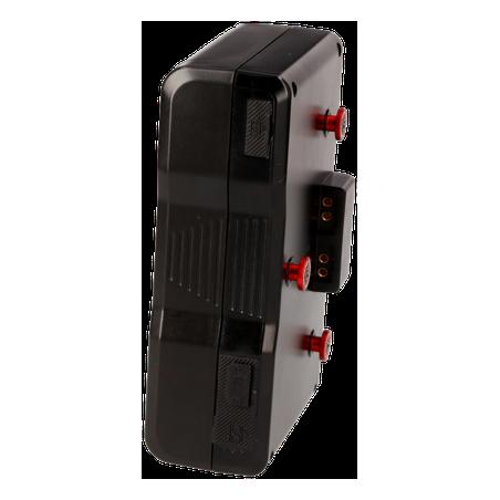 PB-D200A HEDBOX High power battery pack al litio 13A Gold-Mount