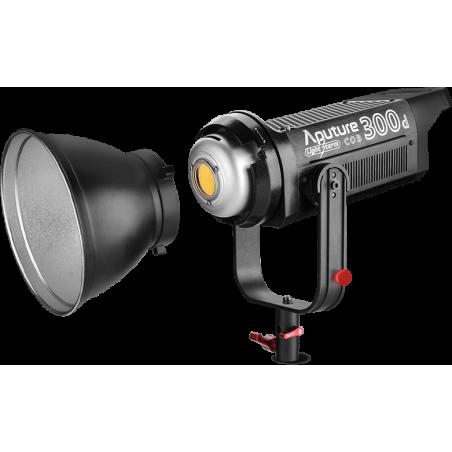 LS C300d_V Aputure luce LED, CRI di 96, temperature colore 5500K - V- Mount