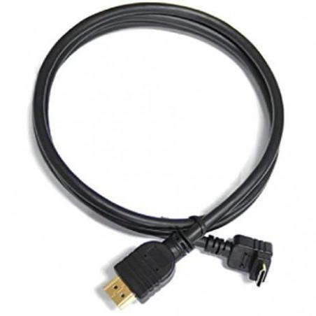 CRHASN12CRB Cineroid cavo HDMI a mini HDMI a gomito 120cm