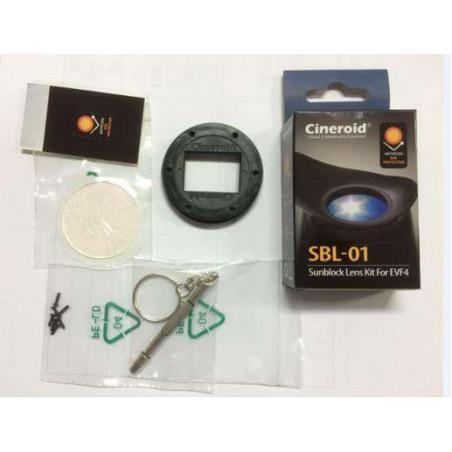 CRSBL-01 Cineroid lente di protezione raggi solari per viewfinder