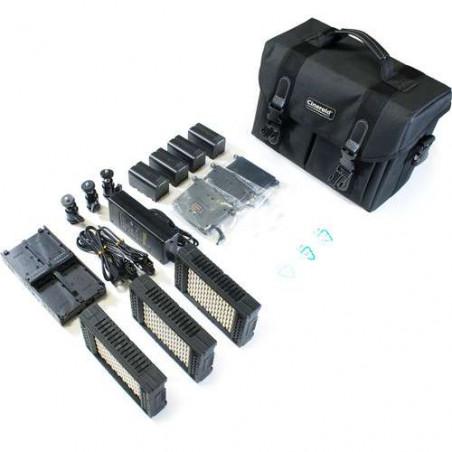 CRLM200-3SET Cineroid Kit 3 pannelli LED , 3000/5600°K