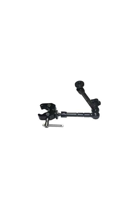 "DSM04 Digitalfoto braccetto magic arm 11"" + Super clamp per accessori camcorder e DSLR"