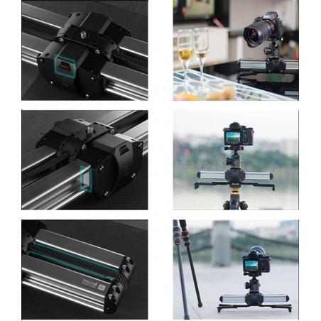 MICRO 2 Digitalfoto doppio slider da 35 a 54cm - massima portata 8Kg per camcorder, DSLR