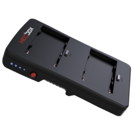 HBP-NPF HEDBOX Piastra V-Lock per 2 batterie NPF Sony