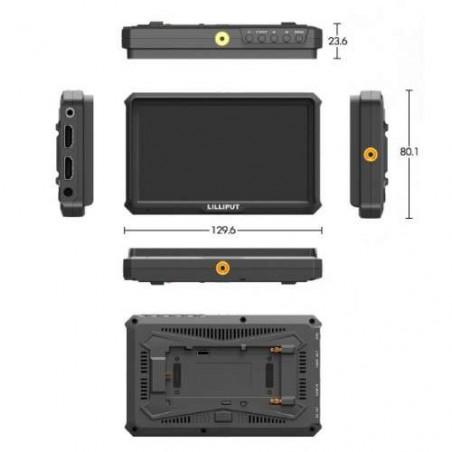A5 Lilliput monitor 4K HDMI - Misure