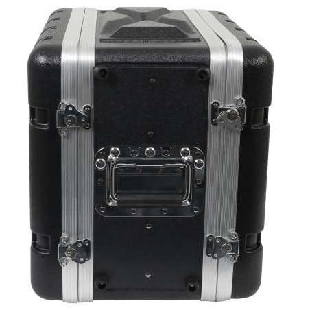 Mini regia video in flightcase, 200mm di profondità utile di installazione - dimensioni L54 x H45 x P36