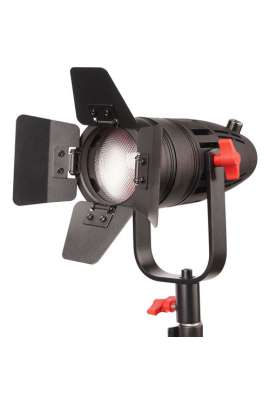Kit 3 fari led fresnel daylight 55W dimmer CAME TV - noleggio