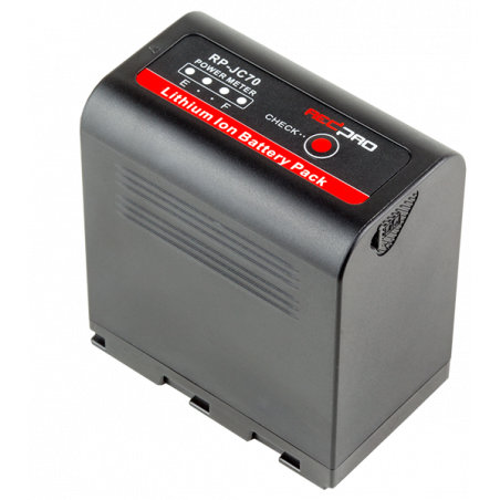 RP-DC50JC70 HEDBOX kit batteria al litio RP-JC70 + RP-DC50 caricabatteria doppio con display