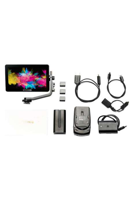 "FOCUS OLED DMWBLF19 KIT SmallHD Montor OLED 5.5"" Panasonic DMW-BLF19 KIT Batteria"