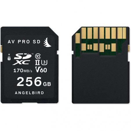 AVP256SDMK2V60 SD CARD UHS II V60 256GB 170MB/s Angelbird Memory Card