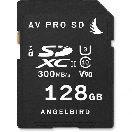 AVP128SDMK2V90 SD CARD UHS II V90 128GB Angelbird Memory Card UHS II V90 da 128 GB